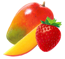 mango-strawberry